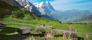 Góra Rigi Szwajcaria